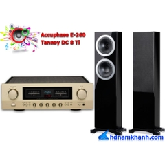 Bộ nghe nhạc Amply Accuphase E-260 + Loa Tannoy DC8 Ti