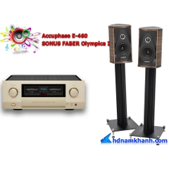 Bộ nghe nhạc Amply Accuphase E-460 + Loa SONUS FABER Olympica I