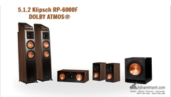 Bộ Loa Klipsch RP-6000F 5.1.2 DOLBY ATMOS® HOME THEATER SYSTEM