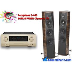 Bộ nghe nhạc Amply Accuphase E-460 + Loa SONUS FABER Olympica III