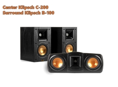 Bộ Loa Center + Surround Klipsch C200 - B100