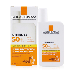Kem chống nắng dạng sữa ANTHELIOS INVISIBLE FLUID SPF 50+ La Roche Posay 50 ml