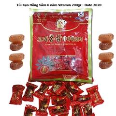 TPCN: Kẹo hồng sâm 200 GR