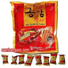 TPCN: Kẹo Hồng Sâm Sobaek 200gr