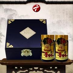 Cao Hồng Sâm Mật Ong Hàn Quốc 2 lọ x 250g hộp gỗ 6 năm tuổi