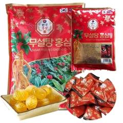 Kẹo Hồng Sâm  6 Năm Không Đường KUMSAN KOREA 500G