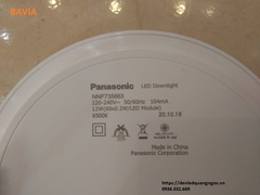 LED downlight panel tròn panasonic 12W - NNP735663