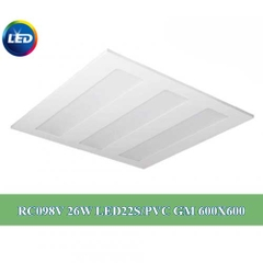 Đèn led panel philips 26W 600×600 RC098V LED22S PVC GM