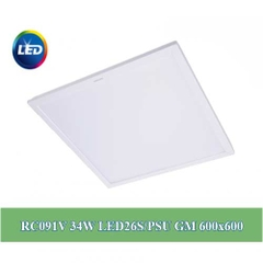 Đèn Led Panel Philips 34W 600X600 RC091V LED26S
