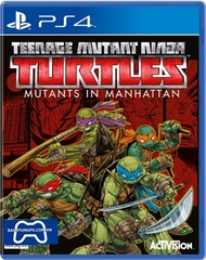 Teenage mutant ninja turtles PS4 -2nd