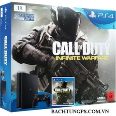 MÁY PLAYSTATION 4 SLIM 1 TB + CALL OF DUTY: INFINITE WARFARE BUNDLE