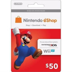 Nintendo Switch Eshop 50$