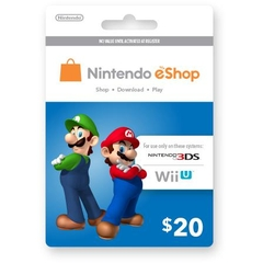 Nintendo Switch Eshop 20$