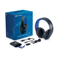 PlayStation Gold Wireless Stereo Headset 7.1
