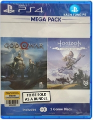 Combo 2 đĩa  game God Of War 4 Horizon Zezo Dawn Complete Edition