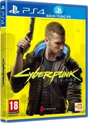 Đĩa Game PS4 Cyberpunk 2077 PLAYS GREAT ON PS5