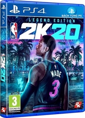 Đĩa Game PS4 NBA 2k20 Legend Edition