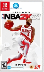 Game NBA 2k21 Nintendo