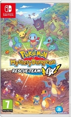 Game Nintendo Switch Pokemon Mystery Dungeon Rescue Team DX