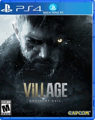 Đĩa Game Resident Evil VILLAGE PS4