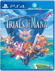 Đĩa Game Trials of Mana Ps4