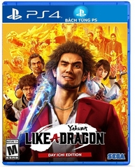 Đĩa Game Yakuza Like a Dragon Day Ichi Edition PS4