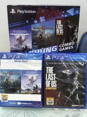 Combo 3 game God Of War 4- Horizon Zezo Dawn :Complete Edition-  The Last Of Us