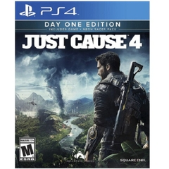 Đĩa Game Ps4: Just Cause 4 Dayone Edition Steelbook