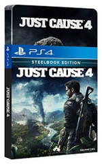 Đĩa Game Ps4 Just Cause 4 Dayone Edition Steelbook