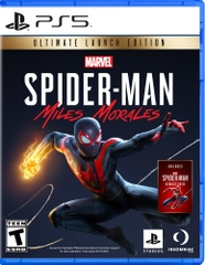 Đĩa Game Marvels Spider Man Miles Morales Ps5