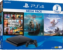 Máy PS4 Slim 1TB Mega Pack 2 Tặng 3 game