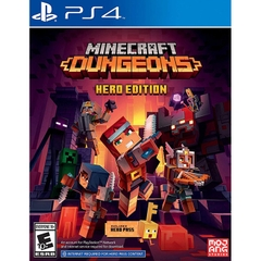 Game PS4 Minecraft Dungeons Hero Edition