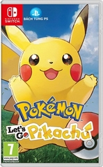 Game Pokémon Let's Go Pikachu Nintendo Switch