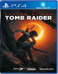 Đĩa game ps4: Shadow of Tomb raider