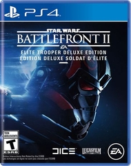 Đĩa game PS4 :Star Wars Battlefront II ( Elite Trooper Deluxe Edition )