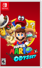 Game Super Mario Odyssey Nintendo Switch