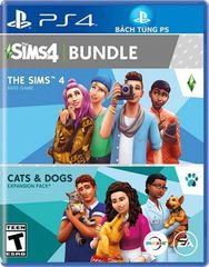 Game PS4 The Sims 4 Plus Cats And Dogs Collection
