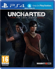 Uncharted: the lost legacy Ps4 hệ US