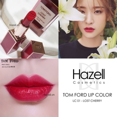 Son lì thỏi TOM FORD Lip Color - LC01 Lost Cherry (Vỏ đỏ)