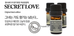 Nước hoa Dionel Secret Love Black Edition 5ml (Đen)