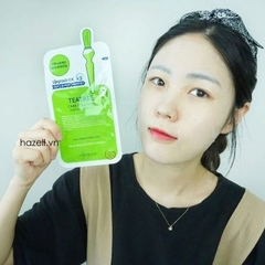 Mặt nạ MEDIHEAL Upgrade EX.x3 - TeaTree Care Solution Essential Mask Ex - XANH LÁ