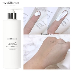 Sữa tắm truyền trắng Medifferent in shower tone-up cream 300ml