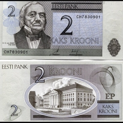 Estonia 2 kroon 1992