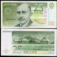 Estonia 25 kroon 2002
