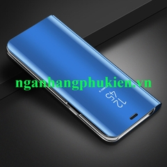 Bao da Clear View Standing Cover cho Samsung Galaxy A8 Plus 2018