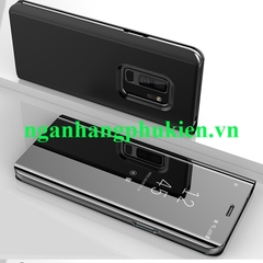Bao da Clear View Standing Cover cho Samsung Galaxy S9 Plus