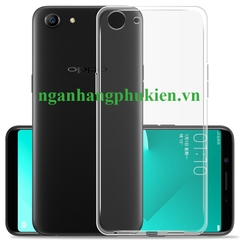 Ốp lưng dẻo silicon cho Oppo A83 trong suốt siêu mỏng