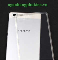 Ốp lưng silicon dẻo trong suốt Oppo R5 siêu mỏng