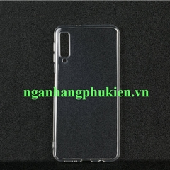 Ốp lưng dẻo trong suốt Samsung Galaxy A7 2018 hiệu Oucase