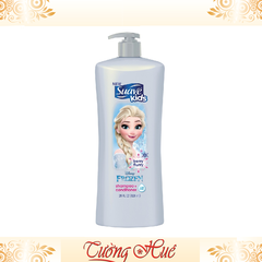 Gội Xả Suave Kids Frozen BERRY FLURRY Shampoo + Conditioner - 828ml - Xám.